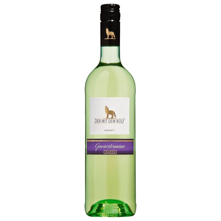 Wolfenweiler Weißwein Gewürztraminer lieblich 0,75l