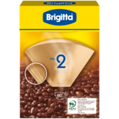 Brigitta Kaffeefilter No. 2, 80 Stück