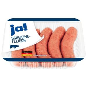 ja! Schweine-Bratwurst grob 5x80g