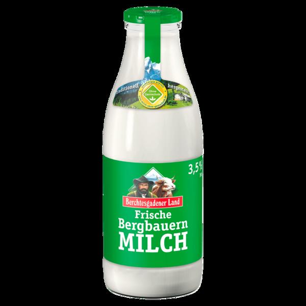 Berchtesgadener Land Frische Bergbauern-Milch 3,5% 1l