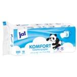 ja! Tissue-Toilettenpapier 3-lagig 10x200 Blatt