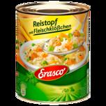 Erasco Reistopf mit Fleischklößchen 800g