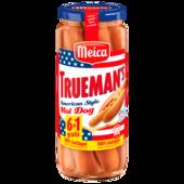 Meica Truemans Geflügel Hot-Dog 300g, 7 Stück