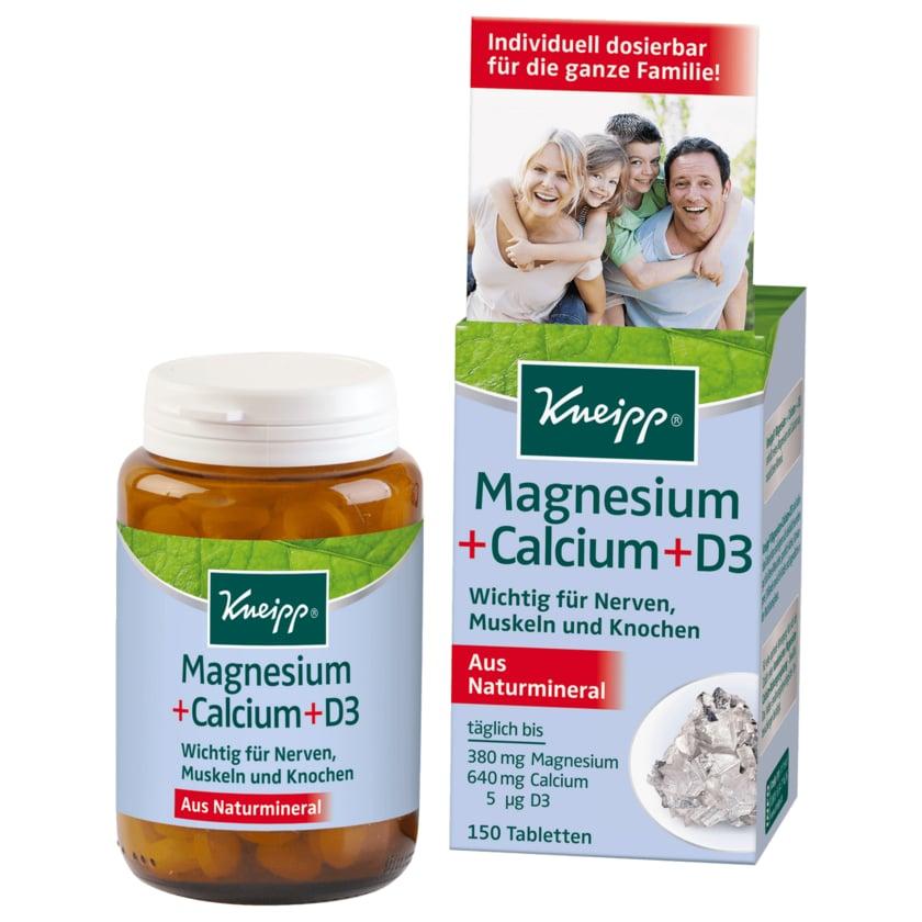 Kneipp Magnesium + Calcium + D3 150 Stück