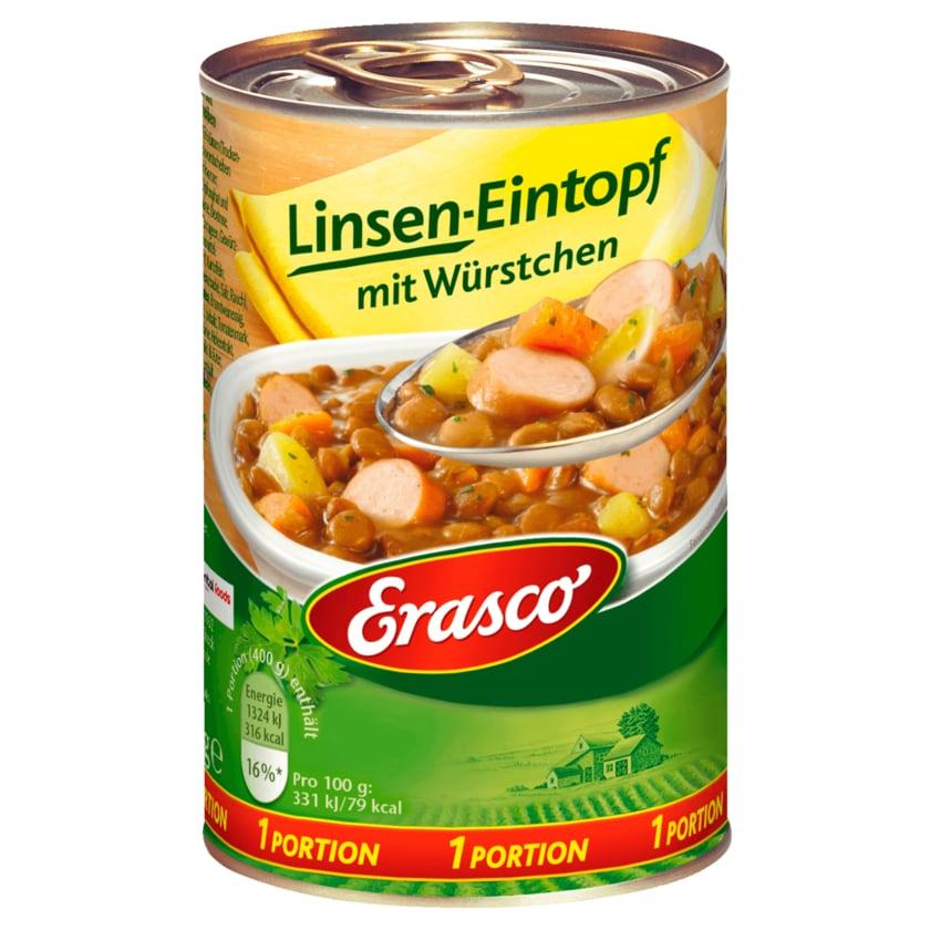 Erasco Linsen-Eintopf mit Würstchen 400g