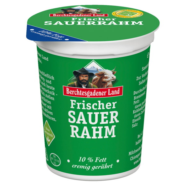 Berchtesgadener Land Sauerrahm 10% 200g