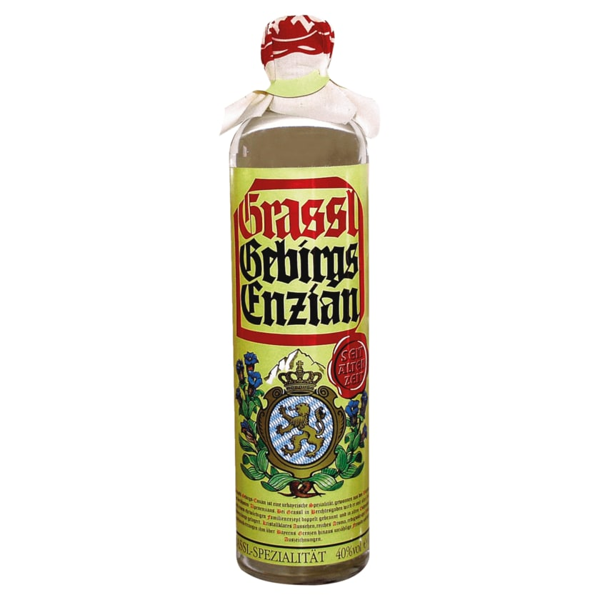 Grassl Gebirgsenzian 0,7l