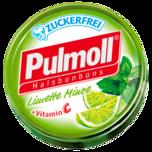 Pulmoll Hustenbonbons Limette-Minze 50g