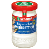 Schamel Alpensahne-Meerrettich 135g