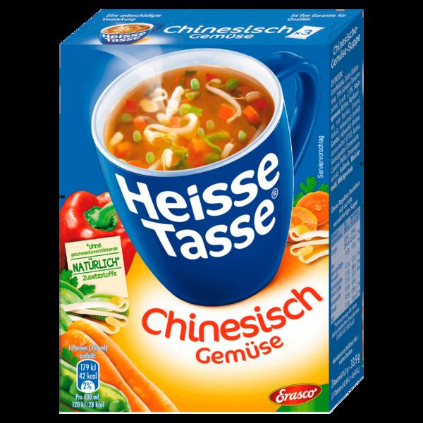 Erasco Heisse Tasse Chinesische Gemüse-Suppe 3x150ml