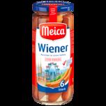 Meica Wiener extra knackig 250g, 6 Stück