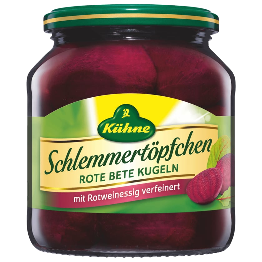 Kühne Schlemmertopf Rote-Bete-Kugeln 350g