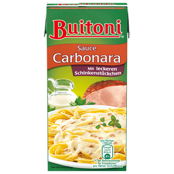 Buitoni Sauce Carbonara 350ml