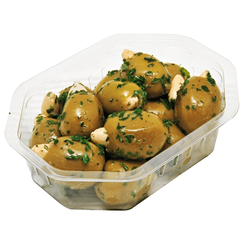 Palatum Grüne Oliven mit Mandeln 100g
