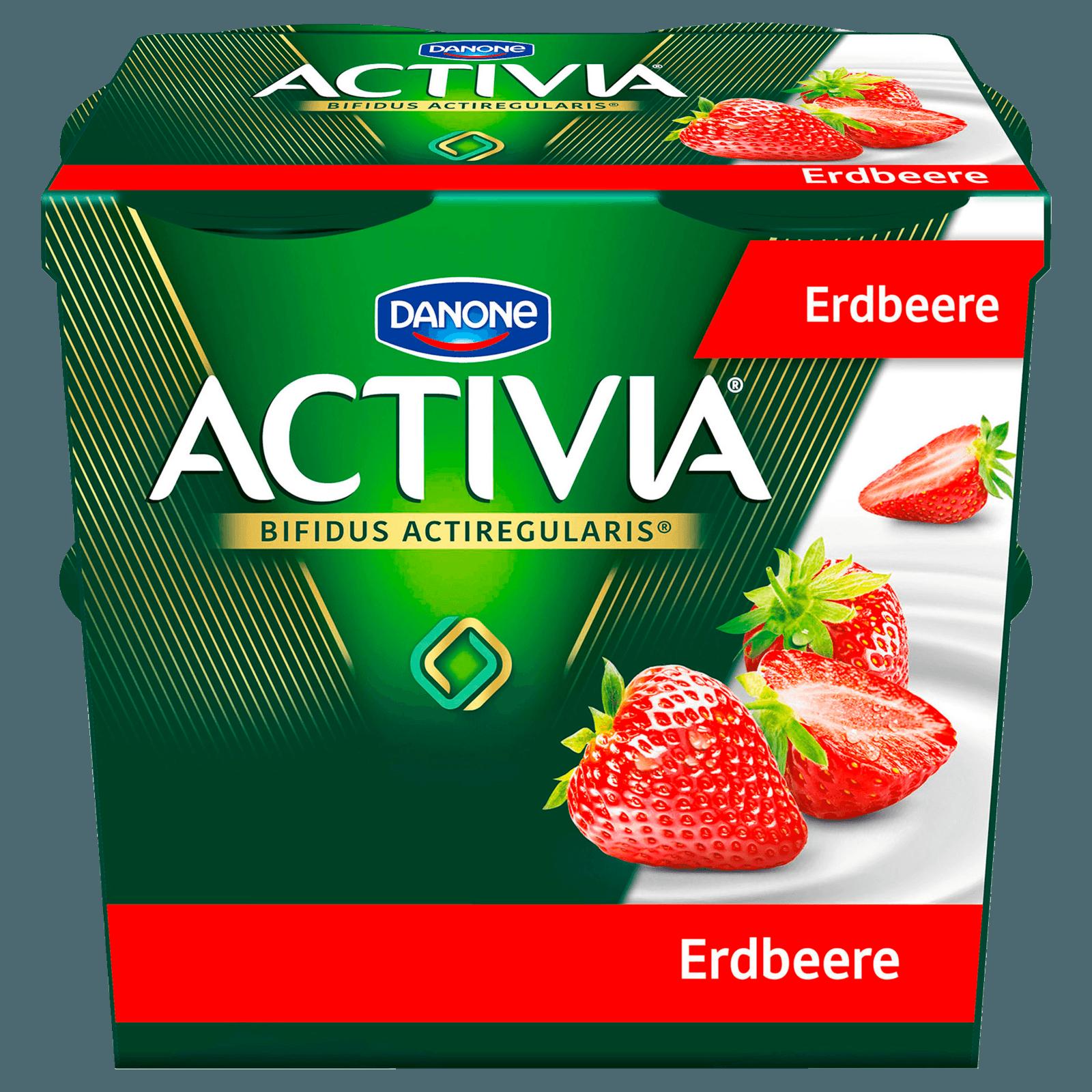Danone Activia Erdbeere 4x125g