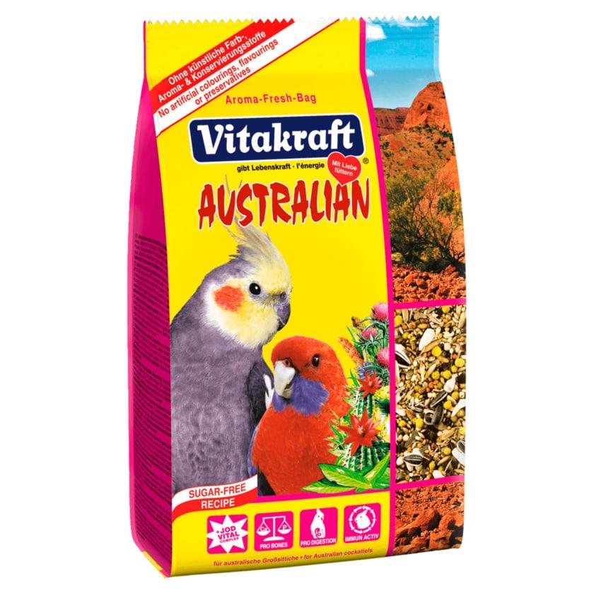 Vitakraft Australian Vogelfutter für australische Großsittiche 750g