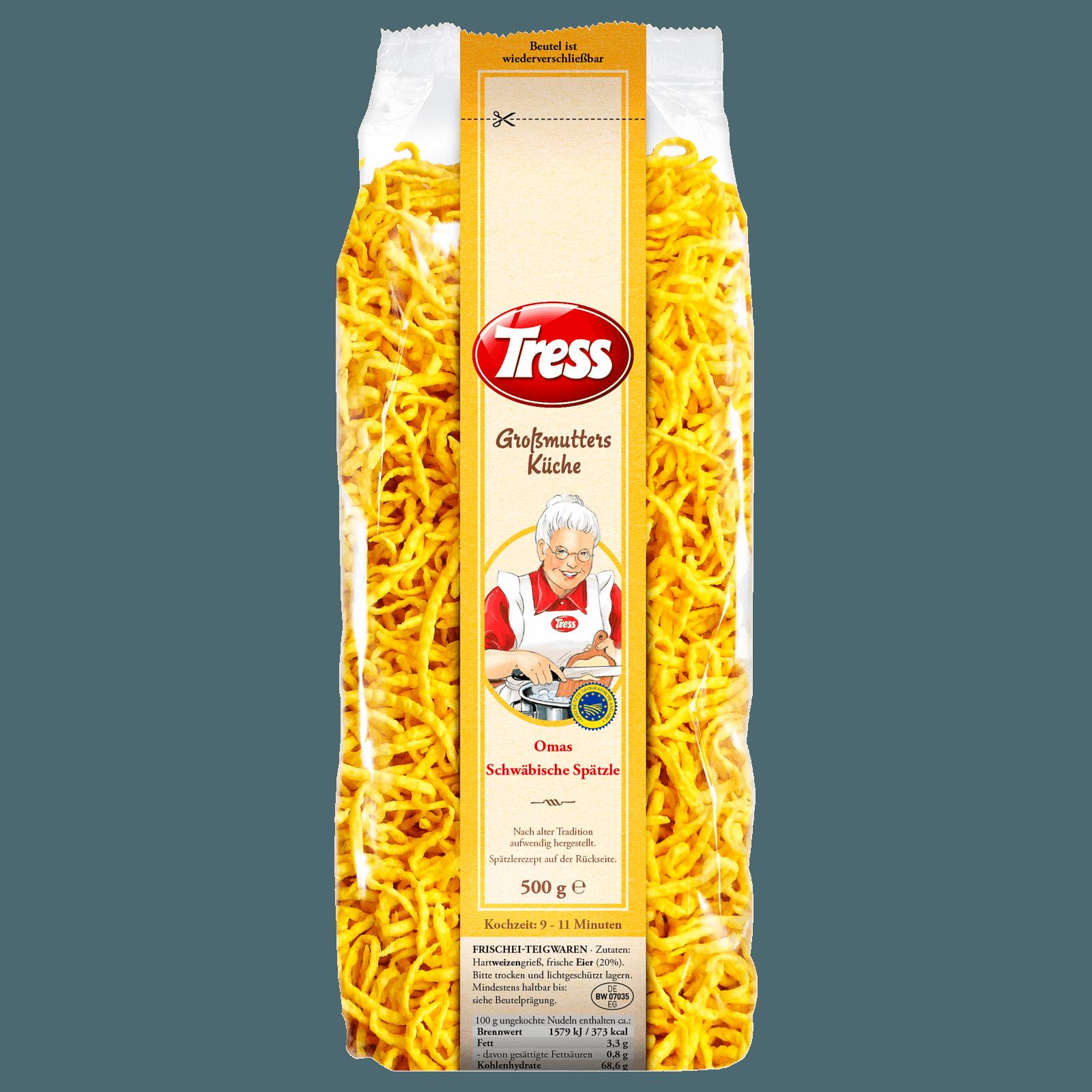 Tress Großmutters Küche Oma's Schwäbische Spätzle 500g