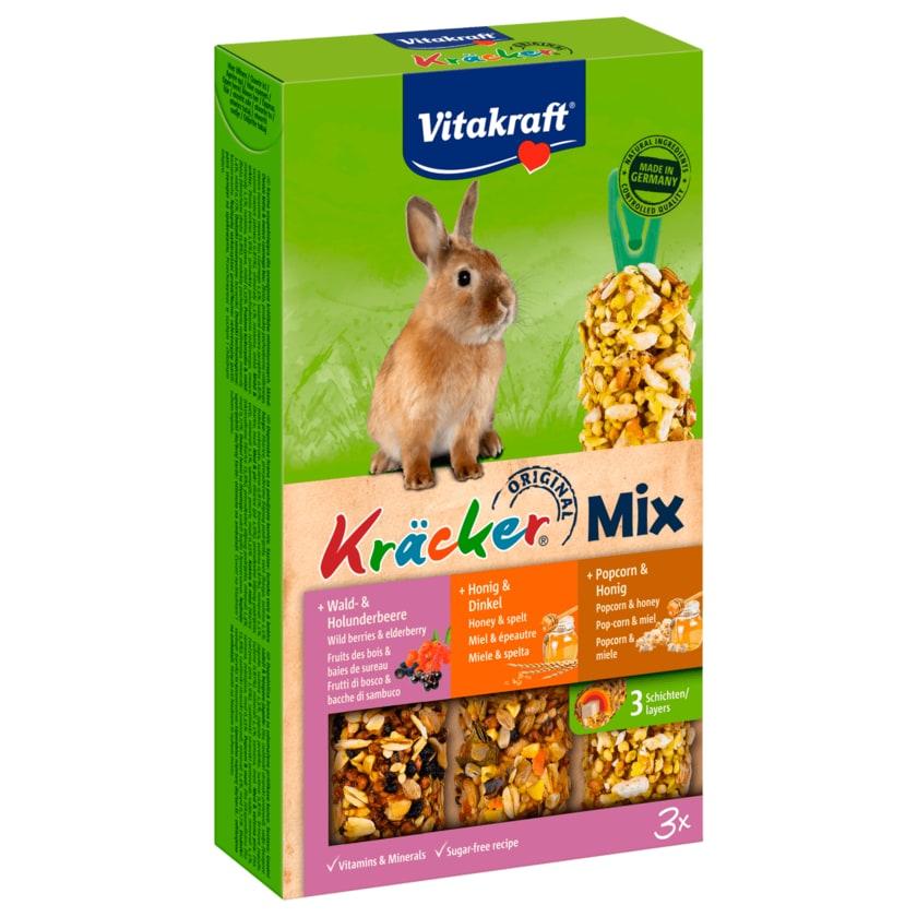 Vitakraft Kräcker Trio Mix Waldbeere/Honig/Popcorn 3 Stück
