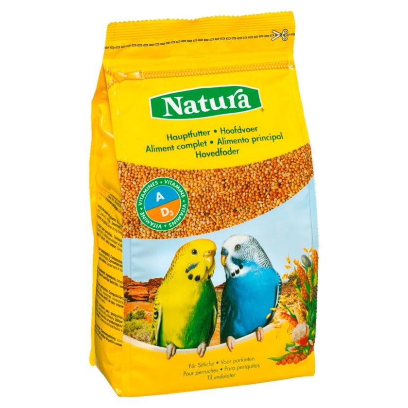 Natura Hauptfutter für Sittiche 1kg