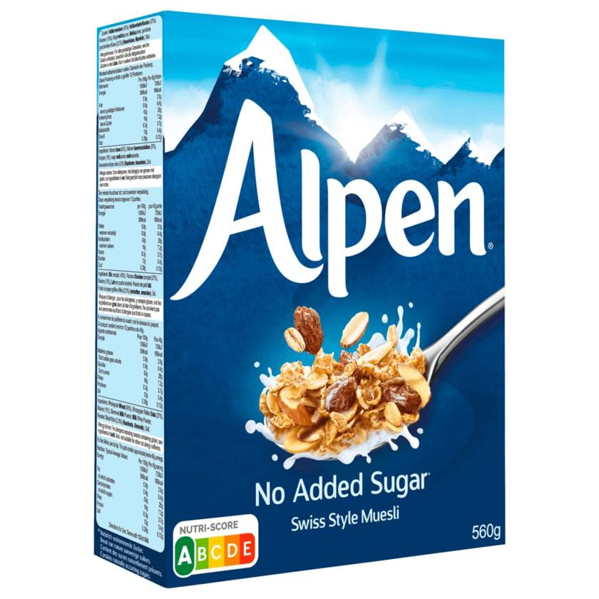 Weetabix Alpen Vollkorn Müsli ohne Zuckerzusatz 560g
