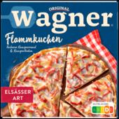 Original Wagner herzhafter Flammkuchen Unser Original Elsässer Art Tiefgefroren 300g