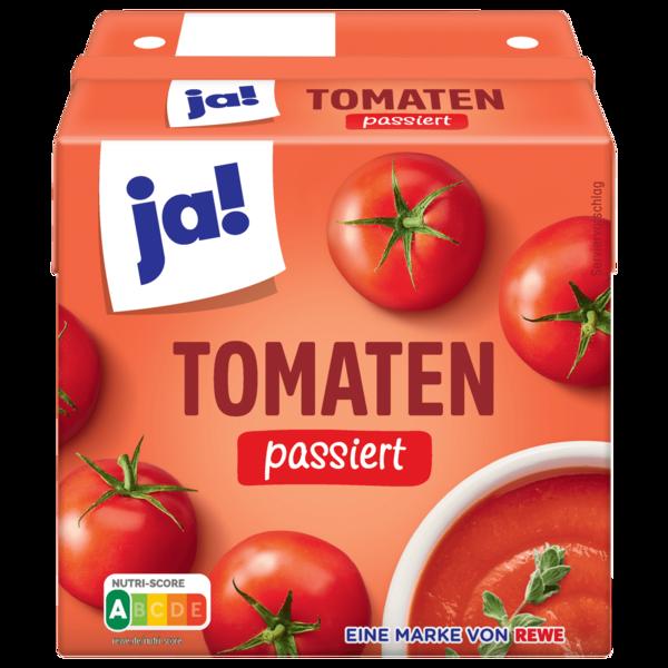 ja! Tomaten passiert 500g