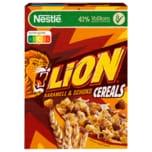 Nestle Lion Cereals Karamell und Schoko Cerealien mit Vollkorn 400g