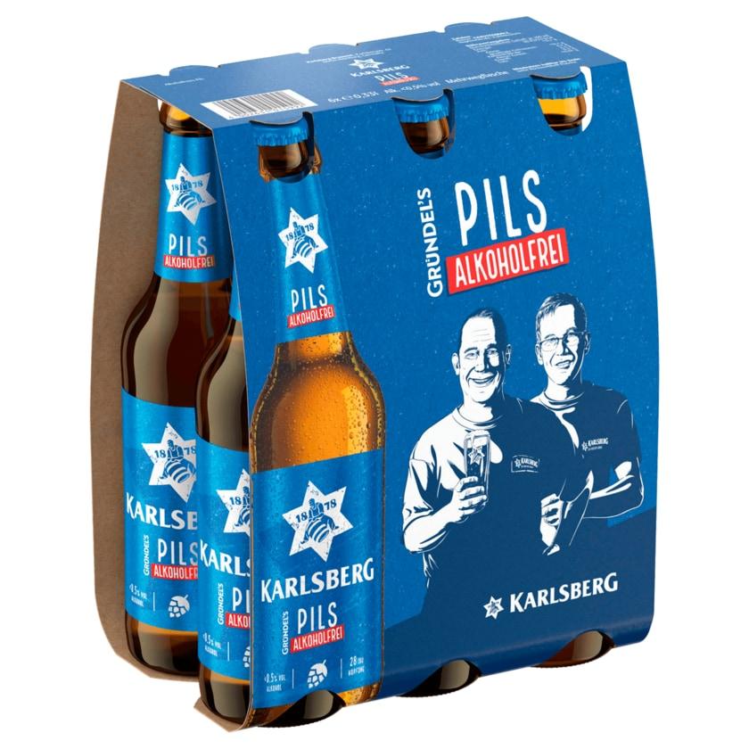 Karlsberg Pils alkoholfrei 6x0,33l