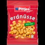 Pittjes Erdnüsse ohne Salz 150g
