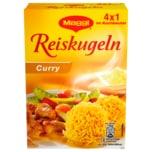 Maggi Reiskugeln Curry im Kochbeutel 125g, 4 Stück