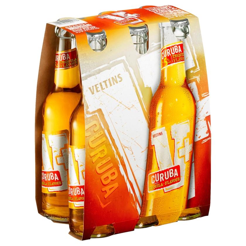 Veltins Biermix V+ Curuba Tequila-Flavour 6x0,33l