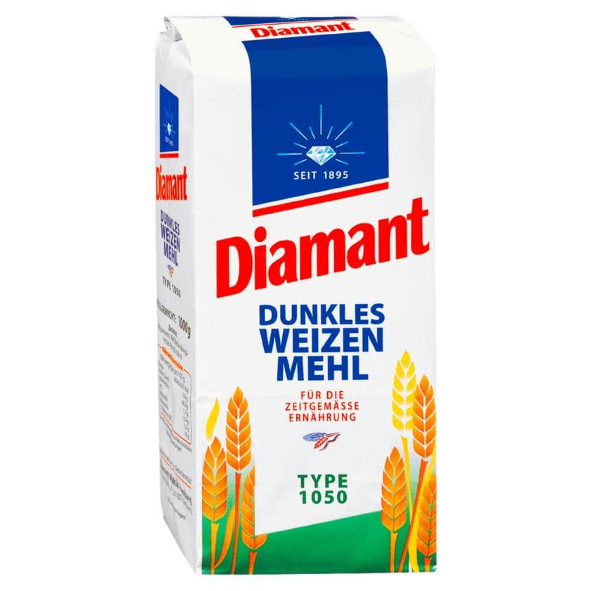 Diamant Dunkles Weizenmehl Type 1050 1kg