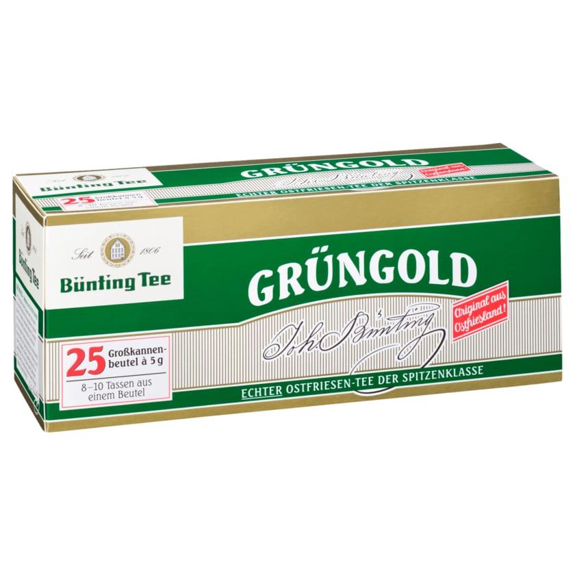 Bünting Tee Grüngold 125g, 25 Beutel