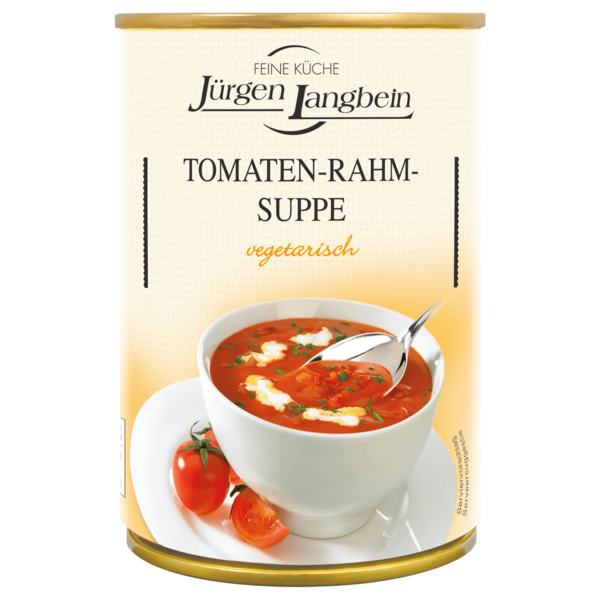 j rgen langbein tomaten rahm suppe 400ml bei rewe online. Black Bedroom Furniture Sets. Home Design Ideas