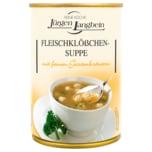 Jürgen Langbein Fleischklößchen-Suppe mit feinen Gartenkräutern 400ml
