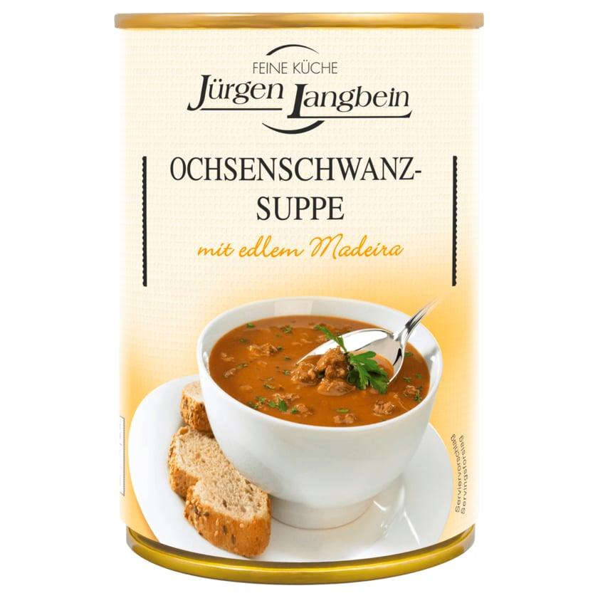 Jürgen Langbein Ochsenschwanz-Suppe 400ml