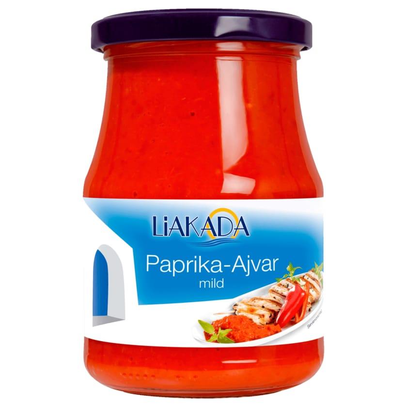 Liakada Paprika-Ajvar mild 370ml