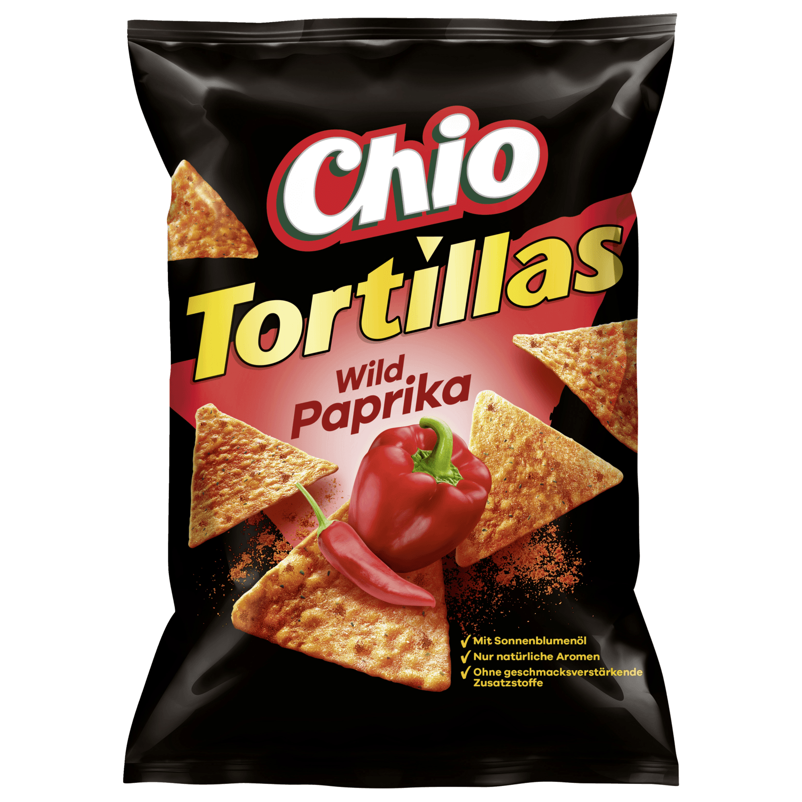 Chio Tortillas Wild Paprika 125g
