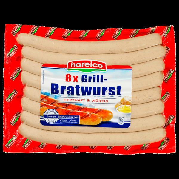 Hareico Grill-Bratwurst 8x62,5g