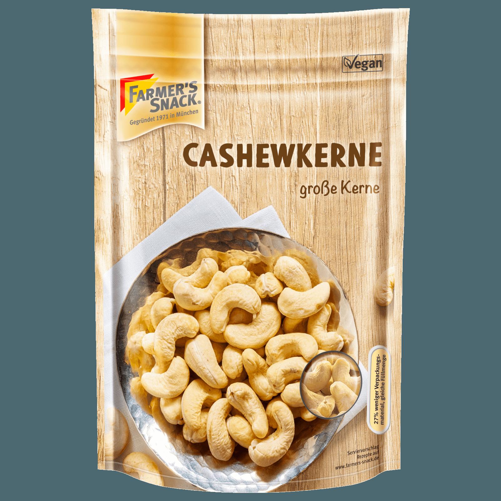 Farmer's Snack Cashewkerne 175g
