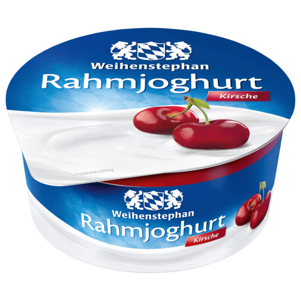 Weihenstephan Rahmjoghurt Kirsche 150g