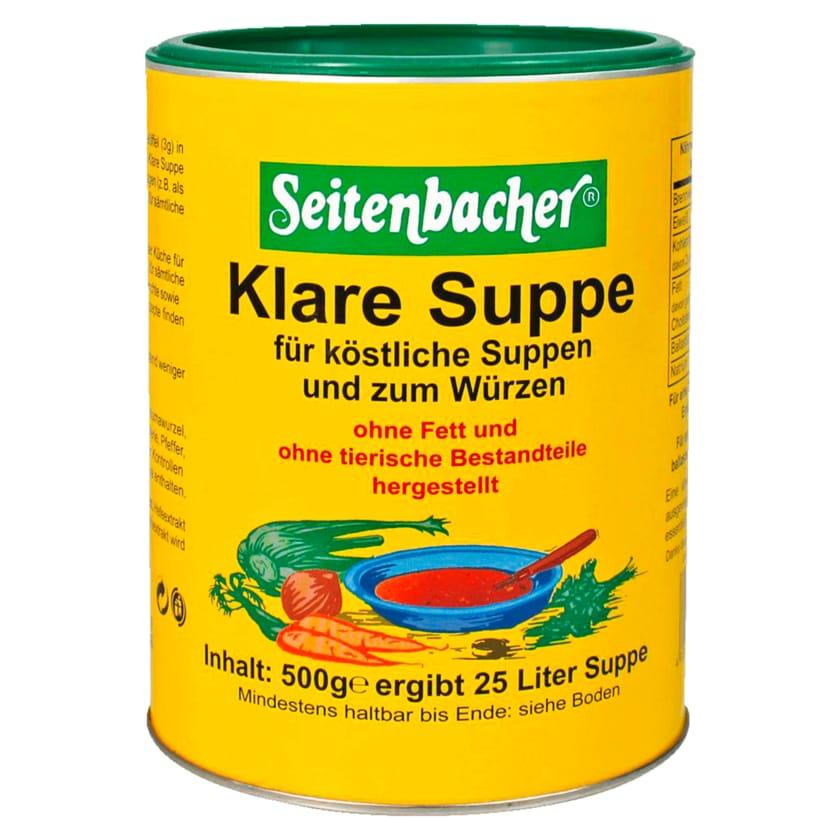 Seitenbacher Klare Suppe Vegetarisch 500g