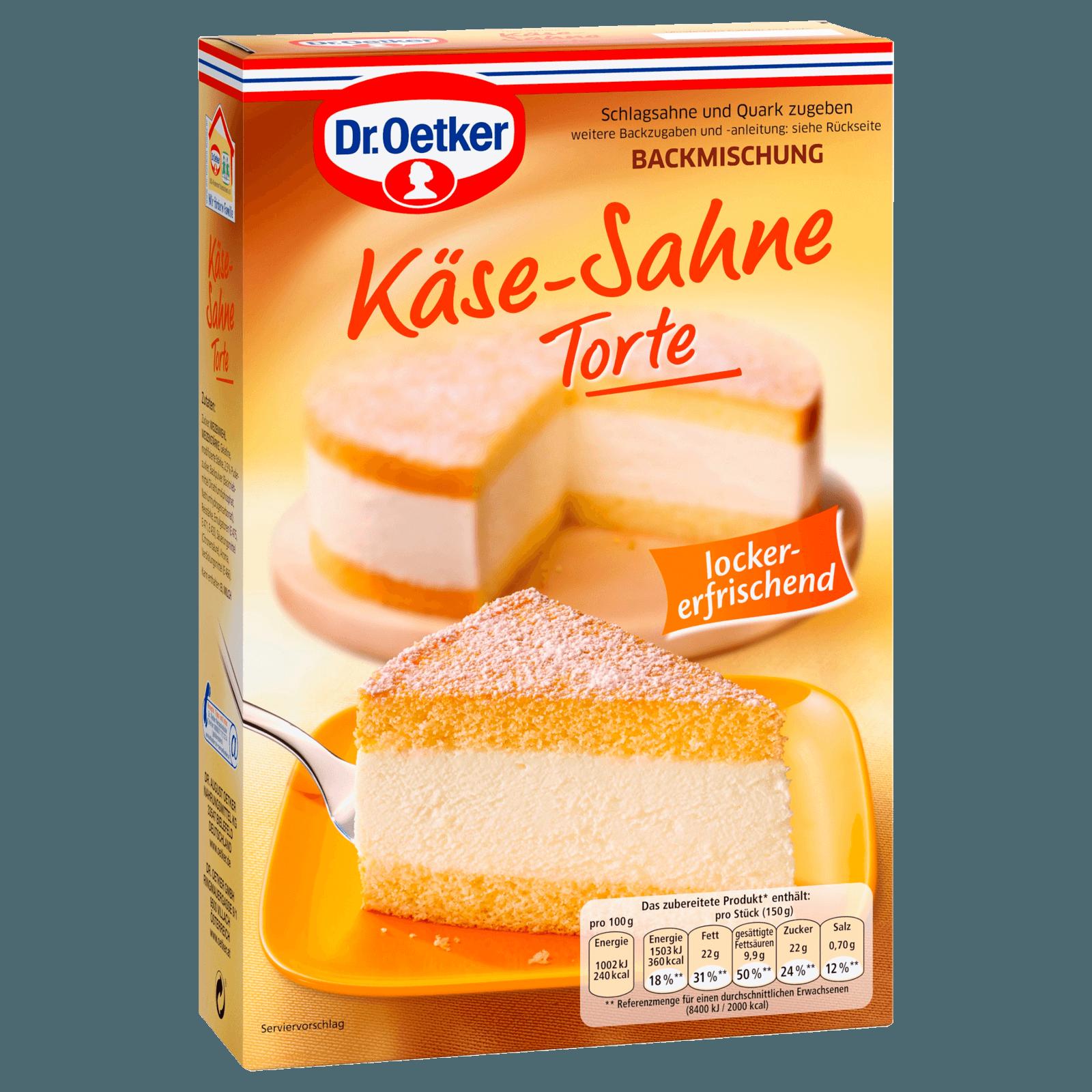 Dr Oetker Kase Sahne Torte 385g Bei Rewe Online Bestellen