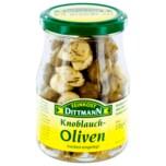 Feinkost Dittmann Knoblauch-Oliven trocken eingelegt 170g