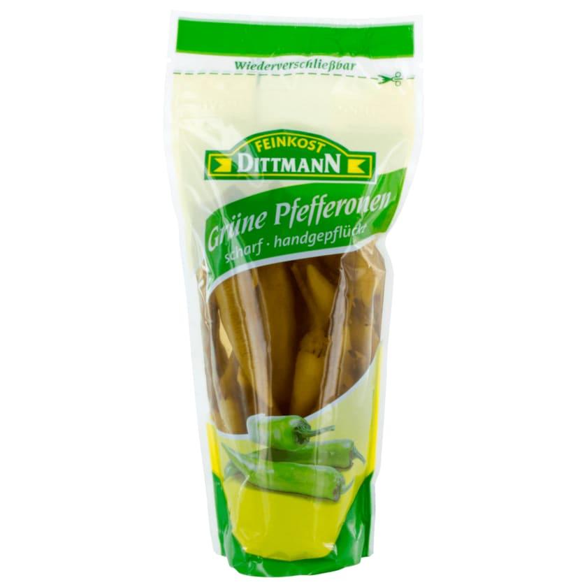 Feinkost Dittmann Grüne Pfefferonen scharf 125g
