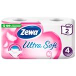Zewa Ultra Soft Toilettenpapier 4-lagig 2x150 Blatt