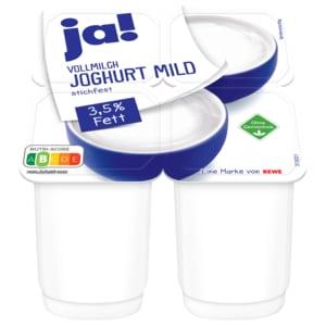 ja! Vollmilch-Joghurt 4x150g