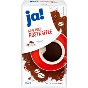 ja! Kräftiger Röstkaffee 500g