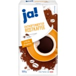ja! Entkoffeinierter Röstkaffee 500g