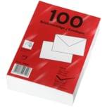 Briefumschläge C6 100 Stück